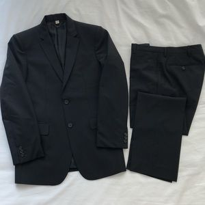 Burberry Black Modern Fit Suit And Trousers